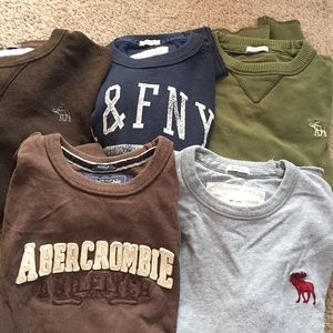 Men's Abercrombie Long Sleeve Tees
